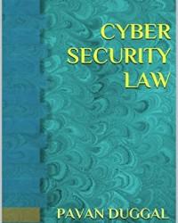 Pavan Duggal Book-Cyber Security Law