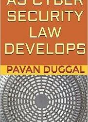 Book on #Cyberlaw. #Cybercrime, #Cybersecurity